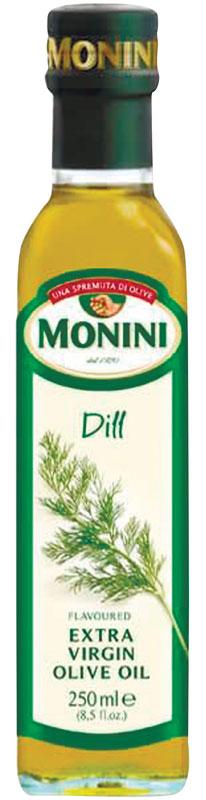 Monini масло оливковое Extra Virgin Укроп, 250 мл