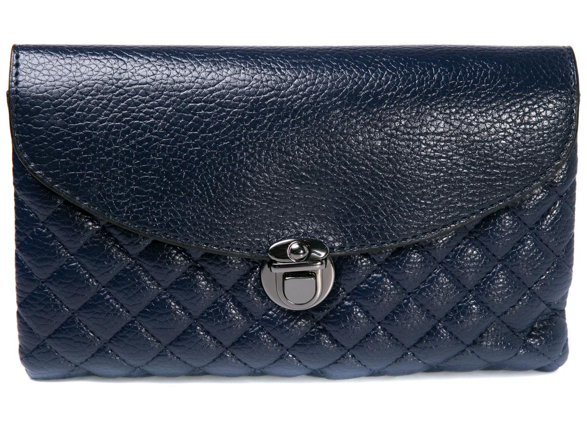 Клатч женский Mitya Veselkov, цвет: синий. LADYBAG5-03LADYBAG5-03Прекрасный ультрамодный клатч, закрывается на удобную защелку, внутри 3 отделения. Можно использовать как сумку, в комплекте для этого есть ремешок. Размеры: 23 x 14 см.