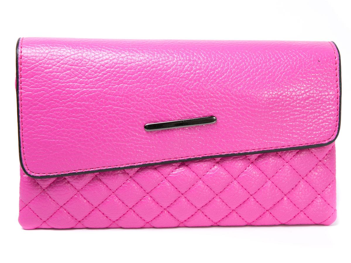 Клатч женский Mitya Veselkov, цвет: розовый. LADYBAG5-18LADYBAG5-18Прекрасный ультрамодный клатч, закрывается на удобную защелку, внутри 3 отделения. Можно использовать как сумку, в комплекте для этого есть ремешок. Размеры: 23 x 14 см.