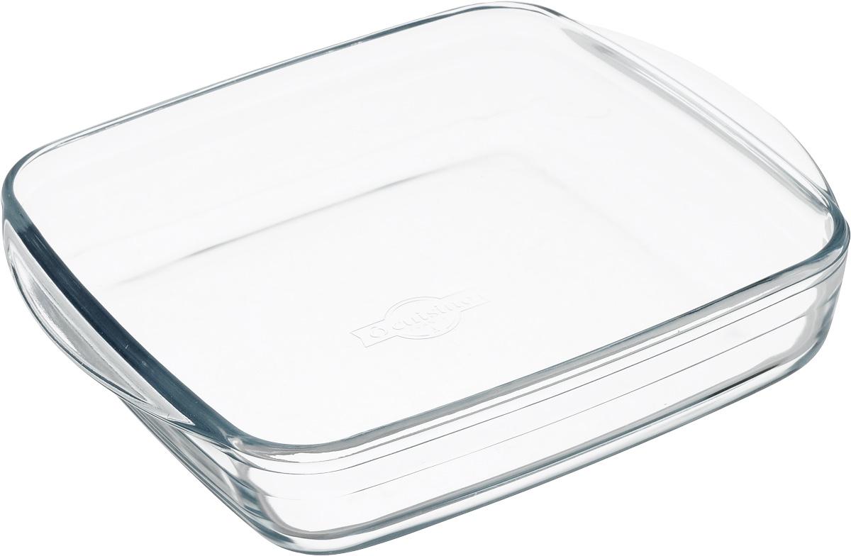 Форма для выпечки Pyrex Ocuisine, квадратная, 25 см х 22 см209BC00Форма для запекания Pyrex Ocuisine изготовлена из прозрачного жаропрочного стекла. Непористая поверхность исключает образование бактерий, великолепно моется. Изделие идеально подходит для приготовления в духовом шкафу. Выдерживает перепад температур от -40°C до +300°C. Форма подходит для использования в микроволновой печи, приготовления блюд в духовке, хранения пищи в холодильнике. Можно мыть в посудомоечной машине. Размер формы (по верхнему краю): 25 см х 22 см. Высота формы: 5 см.