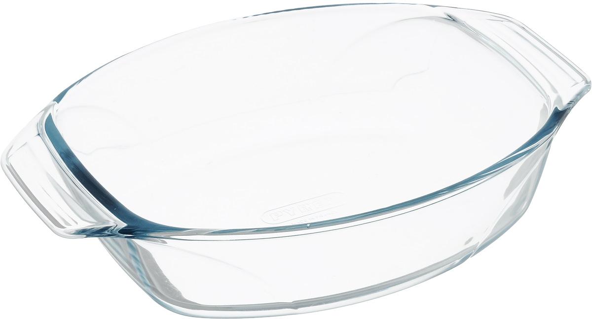 Форма для запекания Pyrex Optimum, овальная, 30 х 21 см410B000/6144Форма для запекания Pyrex Optimum изготовлена из прозрачного жаропрочного стекла. Непористая поверхность исключает образование бактерий, великолепно моется. Изделие идеально подходит для приготовления в духовом шкафу. Выдерживает перепад температур от -40°C до +300°C. Форма Pyrex Optimum подходит для использования в микроволновой печи, приготовления блюд в духовке, хранения пищи в холодильнике. Можно мыть в посудомоечной машине. Размер формы (по верхнему краю): 30 х 21 см. Высота формы: 6 см.