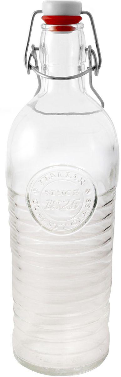 Бутылка Einkochwelt, с крышкой, 1,2 л079081Стеклянная бутылка объемом 1200 мл с завинчивающейся крышкой предназначена для хранения, сиропов и других домашних напитков. Такая крышка обеспечит легкость использования и герметичность сосуда, что надежно сохранит свежесть и качество вашего продукта. Оригинальная форма бутылки позволит ей стать не только полезным изделием, но и украшением интерьера вашей кухни.