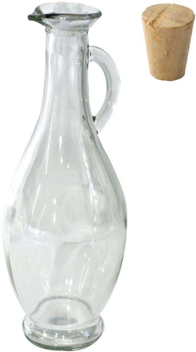 Бутылка Einkochwelt, с пробкой, 500 мл. 189008189008Оригинальная стеклянная бутылка объемом 500 мл с пробкой предназначена для хранения различных напитков и сервировки стола. Красота и изящество формы изделия позволит ему стать истинным украшением праздничного стола.