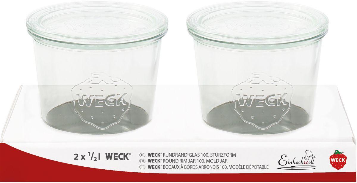 Набор банок для сыпучих продуктов Einkochwelt Weck, 2 шт344292Набор состоит из двух стеклянных банок со стеклянной крышкой, они предназначены для консервирования продуктов по особой технологии. Заполните банку на 2 см ниже кромки. Закрепите резиновое кольцо с внутренней стороны крышки. Переверните крышку кольцом вниз и поверните крышку. Закрепите крышку двумя зажимами. При стерилизации банка должна быть полностью погружена в воду. Плотно прилегающее резиновое кольцо предотвращает попадание воды внутрь банки. После кипячения удалите зажимы и убедитесь, что крышка плотно закрыта. Эта банка сделана из жаропрочного стекла (выдерживает температуру до 250°С), поэтому является великолепной тарой для выпечки в стекле. Оригинальная форма банки позволит ей стать не только полезным изделием, но и украшением интерьера вашей кухни. Объем: 1 л; 2 л.