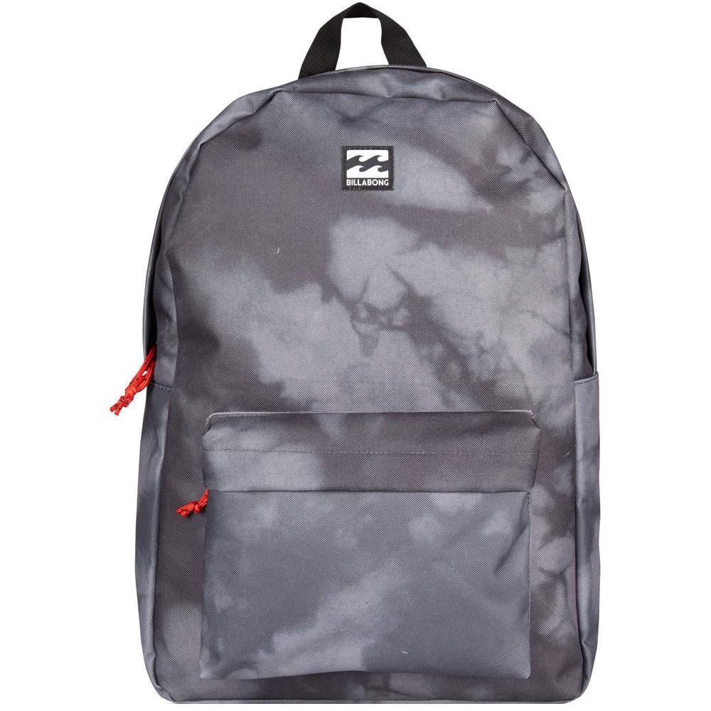 Рюкзак городской Billabong All Day Pack, цвет: черный, серый. 36078693685473607869368547Компактный городской рюкзак, объема которого вполне достаточно для повседневных потребностей. Стильные расцветки сделают этот рюкзак не только полезным аксессуаром, но и замечательным дополнением Вашего образа в целом.