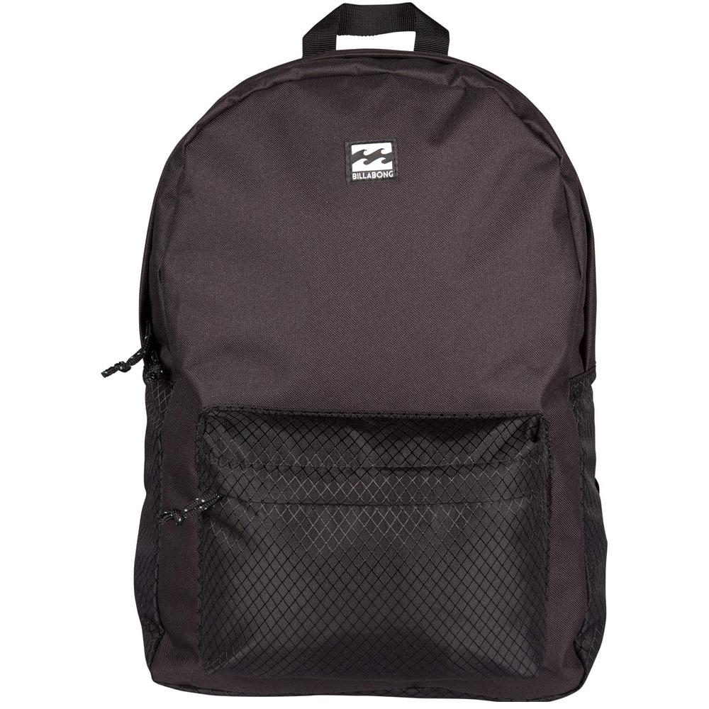 Рюкзак городской Billabong All Day Pack, цвет: черный. 36078693685853607869368585Компактный городской рюкзак, объема которого вполне достаточно для повседневных потребностей. Стильные расцветки сделают этот рюкзак не только полезным аксессуаром, но и замечательным дополнением Вашего образа в целом.