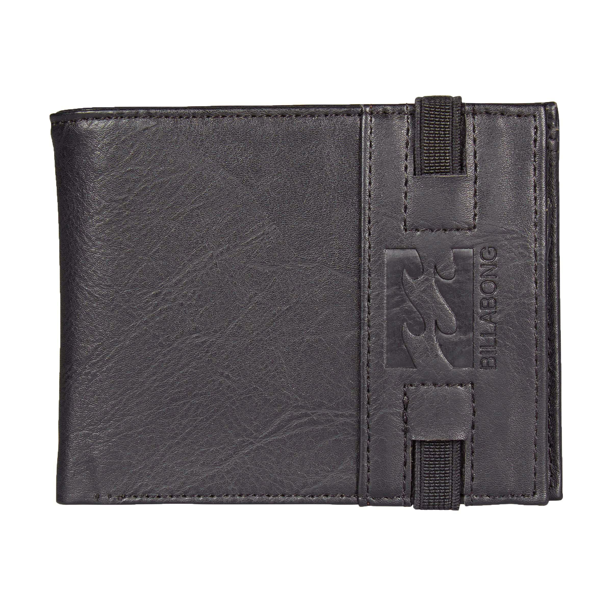 """Кошелек Billabong """"Locked Wallet"""", цвет: черный. 3607869369636"""