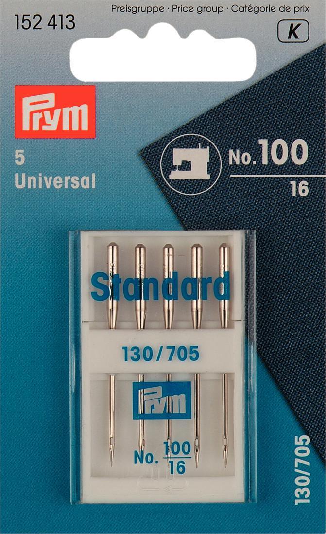 Набор игл для швейных машин Prym, №100, 5 шт152413