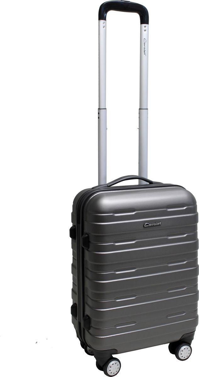 Чемодан-тележка Cavalet Boston 751, цвет: темно-серый, 31 л751-50-12Чемодан-тележка Cavalet Boston Современные и простые в использовании тележки, для людей, которые много путешествуют. Детали: четыре двойных колеса, телескопическая ручка, замок TSA. Материал - поликарбонат - прочность, лёгкость, надёжность, долговечность. Имеет очень высокую прочность и ударную вязкость. Вес 2,9кг. Объем 31л. Все товары компании изготавливаются из высококачественных материалов и проходят строгий контроль качества.