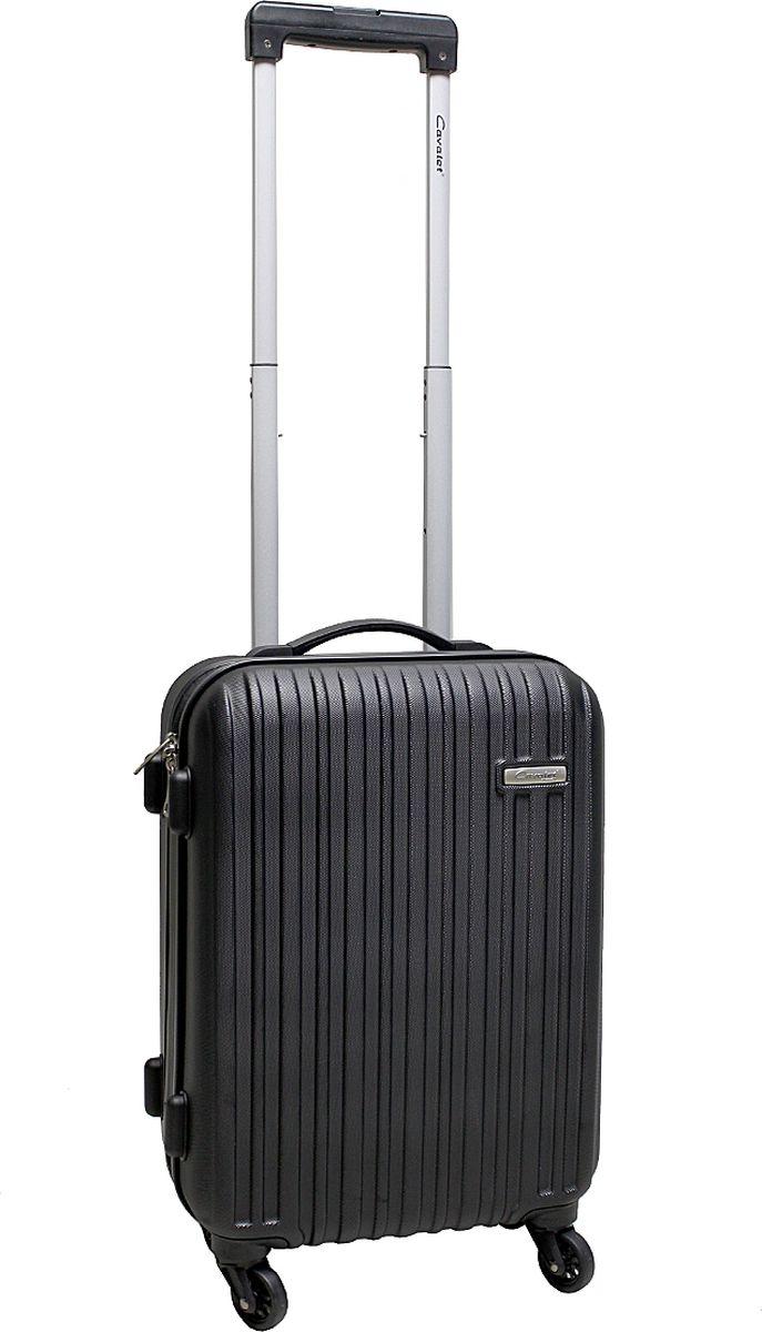 Чемодан-тележка Cavalet Rhodos 843, цвет: черный, 31 л843-50-10Cavalet Rhodos - современные и простые в использовании тележки, для людей, которые много путешествуют. Детали: четыре бесшумных колеса, телескопическая ручка, замок TSA. Материал - ABS-пластик имеет повышенную ударопрочность и эластичность, не боится кислот, щелочей, масел, влаги. Отлично моется, не токсичен. Отлично переносит низкие температуры до -40°С. Вес 2,9кг. Объем 31л. Все товары компании изготавливаются из высококачественных материалов и проходят строгий контроль качества.