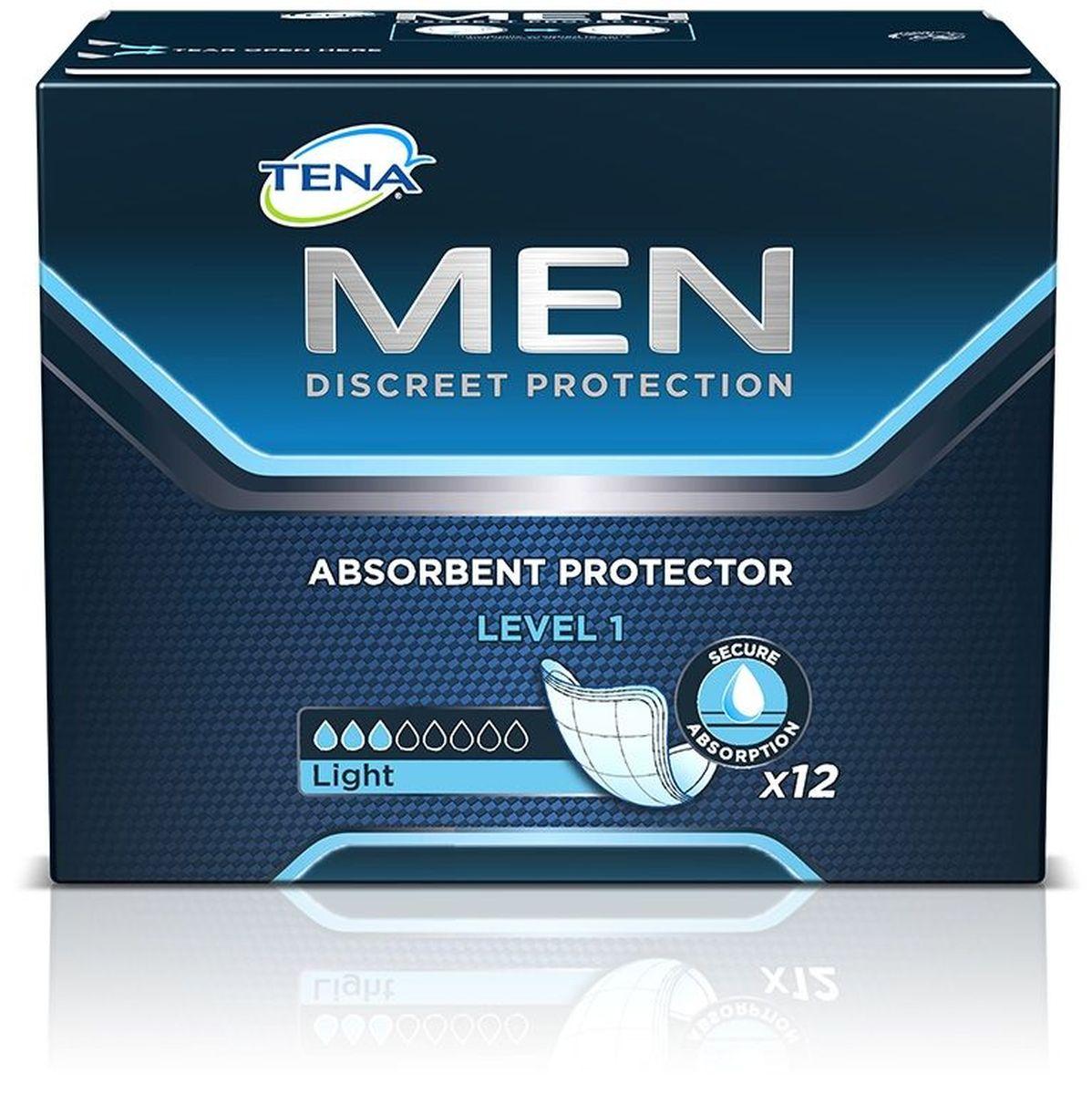Tena Прокладки урологические для мужчин Men 1 12 шт