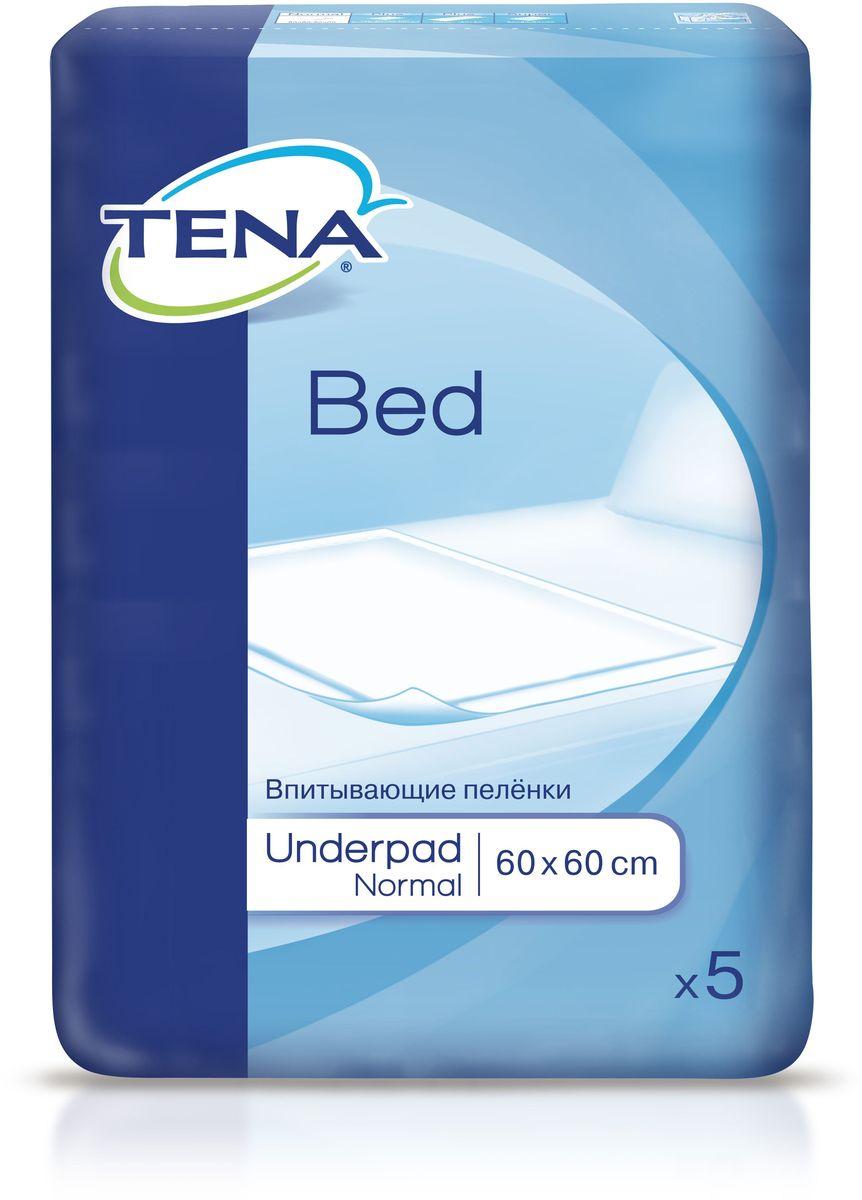 Tena Пеленки впитывающие Bed Normal 60 x 60 см 5 шт