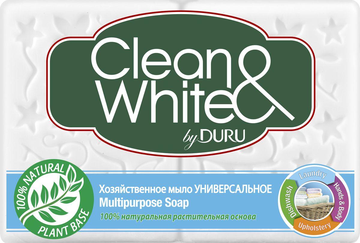 Duru Clean&White Хозяйственное Мыло Универсальное 2*125г