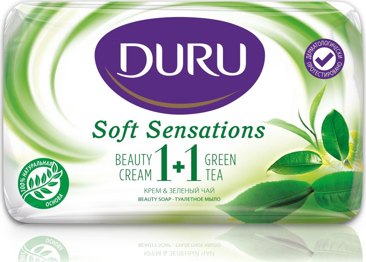 Duru Soft Sens Мыло Зеленый чай 80г