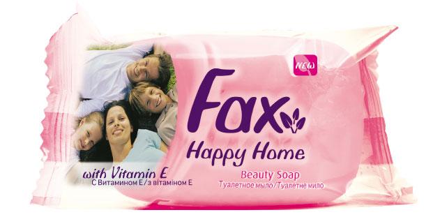 Fax Happyhome Мыло розовое 90г