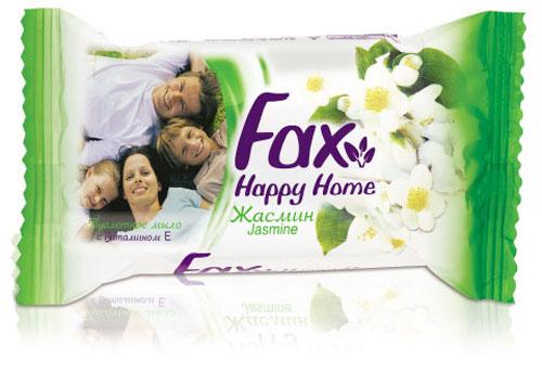 Fax Happyhome Мыло Жасмин 75г80019872Это линия экономичных средств для гигиены рук и тела. Многообразие ароматов и свойств туалетного мыла Fax позволяют всей семье наслаждаться ощущениями чистоты и свежести. Все продукты серии туалетного мыла Fax Family содержат в составе витамин E, ухаживающий за кожей, а также экстракты ягод и цветов, придающих продукту приятные ароматы. Душистый аромат спелой клубники - настоящая ароматерапия для вашей кожи. Это мыло обязательно заставит вспомнить лето.