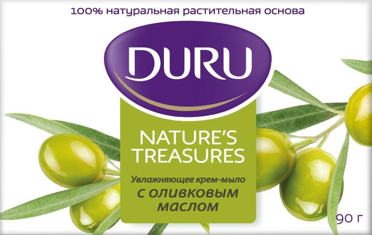 Duru Nature's Treasures Мыло Оливковое масло 90г