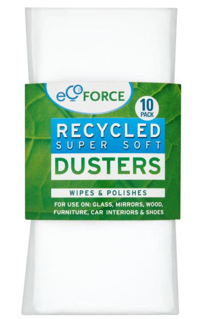 Салфетка EcoForce, супермягкая, 10 шт116-02-1406/4065Супер мягкие салфетки EcoForce - многофункциональные салфетки для любых поверхностей, подходят для стекла, зеркал, дерева, мебели, автомобилей и обуви. Мягкий нетканый материал собирает пыль и полирует поверхность. Может использоваться для сухой или влажной уборки, с чистящими средствами или без них.