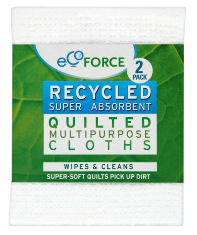 Салфетка EcoForce, супервпитывающая, 2 шт116-02-1407/4072Особенности: Супер впитывающие салфетки EcoForce – многофункциональные салфетки для любых поверхностей: ванной, кухни, автомобилей и др. Мягкий, качественный материал чистит без царапин, прекрасно впитывает и полирует. Может использоваться для сухой или влажной уборки. Многократного применения (можно стирать в машинке при 40 градусах).