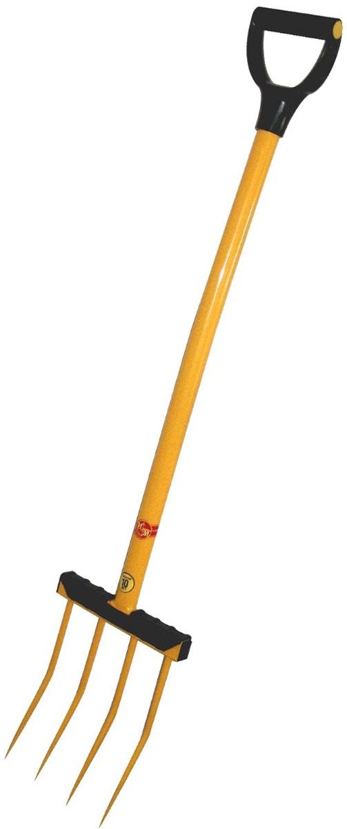 Вилы садовые Торнадо 4TOR-32VIL-4Вилы садовые Торнадо изготавливаются вручную кузнечным и сварным методом. Имеют максимальный лимит прочности на излом. Казалось бы, что нового может быть в таком инструменте как давно всем известные вилы? Оказывается может, если собрать вместе все, что производится и с успехом продается на рынке сельхоз. инструмента. Наши вилы это совокупность всего хорошего и востребованного? А это: 1. Прочность зубьев. Она достигнута за счет ручной ковки каждого зуба и его термообработки. В результате нашими вилами можно без опаски копать. 2. Металлический черенок позволит не ломать голову через год работы где купить новый, а забыть эту проблему на ближайшие 10 лет. 3. Эстетичный внешний вид.