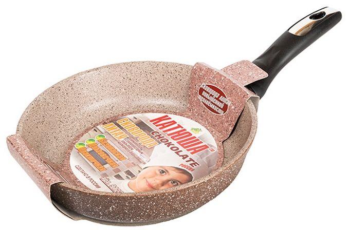 Сковорода Катюша Гранит, литая, с антипригарным покрытием. Диаметр 20 см. 91209120Сковорода а/п литая 20см. Толщина стенок-4мм, толщина дна-6мм