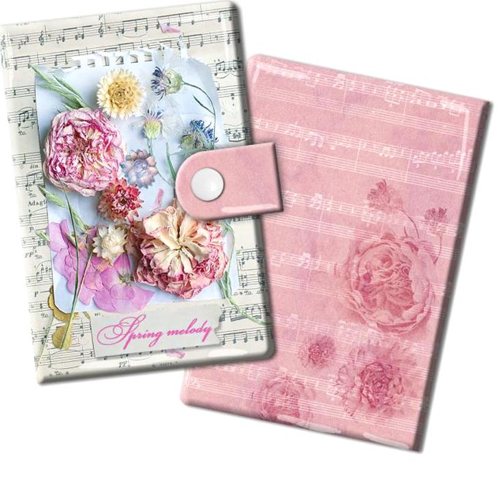 Визитница женская Magic Home Ноты и цветы, цвет: светло-бежевый, розовый. 4487044870Визитница Ноты и цветы из ПВХ (10 карманов). Оригинальная визитница прекрасно подойдет для хранения визиток и кредитных карт. Стильная визитница подчеркнет вашу индивидуальность и изысканный вкус, а также станет замечательным подарком.