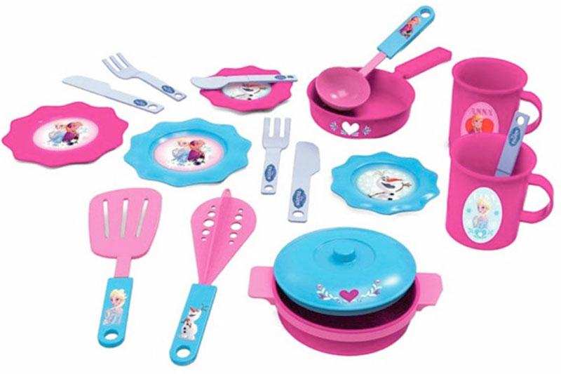 Bildo Игрушечный кухонный набор Холодное сердце 19 предметов B 8706