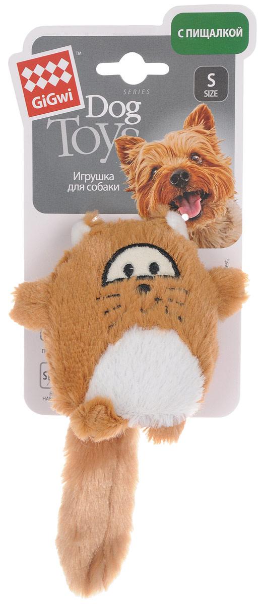 Игрушка для собак GiGwi Лиса, с пищалкой, длина 18 см75220Игрушка для собак GiGwi Лиса порадует вашу собаку и доставит ей море веселья. Несмотря на большое количество материалов, большинство собак для игры выбирают классические плюшевые игрушки. Такие игрушки можно носить, уютно прижиматься во сне, жевать. Некоторые собаки просто любят взять в зубы игрушку и ходить с ней повсюду. Мягкие игрушки сохраняют запах питомца, поэтому он каждый раз к ней возвращается. Милые, мягкие и приятные зверушки характеризуются высоким качеством исполнения и привлекательным дизайном. Внутри игрушки нет наполнителя, что поможет сохранить чистоту в помещении. Игрушка снабжена пищалкой, которая привлекает внимание животного.