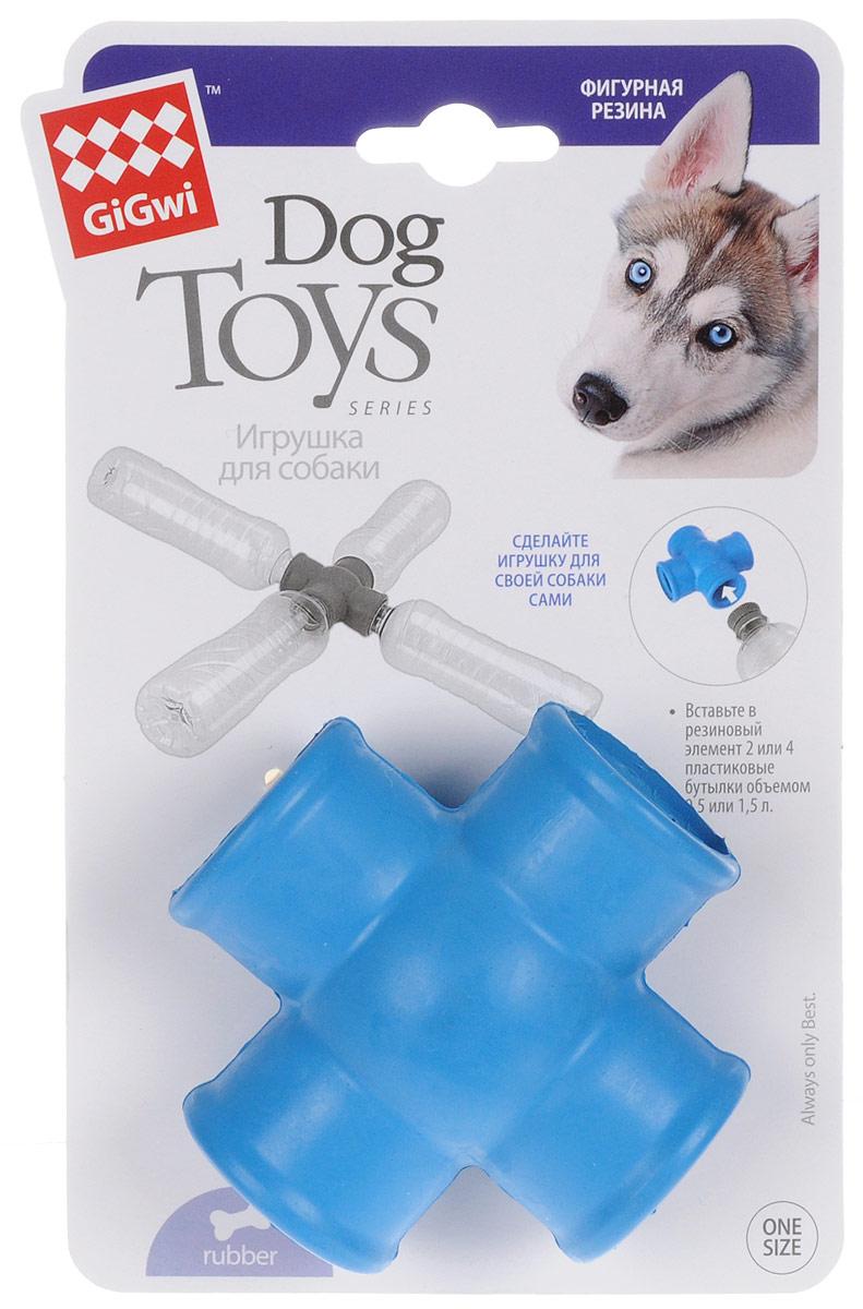 Игрушка для собак GiGwi Фиксатор для пластиковых бутылок, длина 8,5 см х 8,5 см х 4 см75275Фиксатор для пластиковых бутылок GiGwi позволит вам создать игрушку для своей собаки. Вставьте в резиновый элемент 2 или 4 пластиковые бутылки объемом 0,5 или 1,5 л.