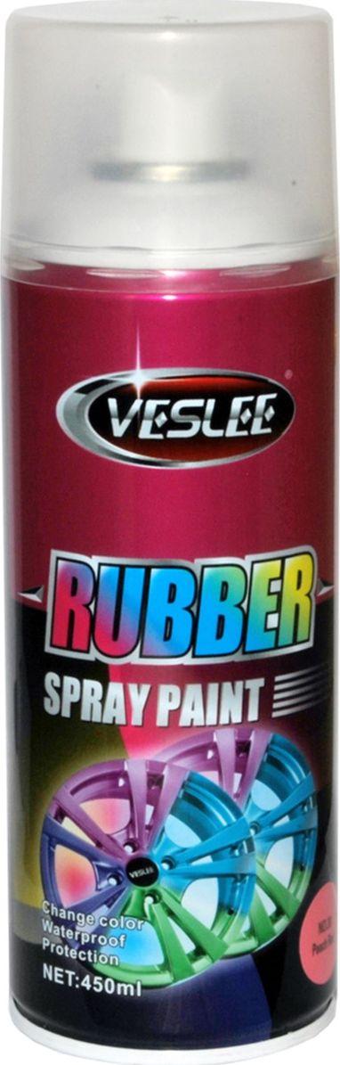 Аэрозольная краска Veslee, резиновая, цвет: с30 розовый, 300 гC30Представляет собой резиновое покрытие, которое после высыхания образует эластичную водоотталкивающую плёнку, защищающую по¬верхность от повреждений и коррозии. При необходимости просто снимается с поверхности как плёнка, не оставляя следов и не повреждая покрытие. Применяется для окраски автомобильных дисков и других предметов, которые нужно выделить с помощью цвета. Представлена в яркой флуоресцентной цветовой гамме, а также в золотом, прозрачном и матовых вариантах. Резиновая краска — это новый сверхудобный материал широкого применения. Благодаря своим свойствам отлично подходит для: — тюнинга автомобилей мотоциклов и других средств передвижения; — может применяться в интерьере жилых помещений; — гидроизолирует всё, на что наносится; — приятна на ощупь и при особом нанесении можно получить красивую фактуру, что незаменимо для аксессуаров (брелки, телефоны, украшения, флешки и многое другое). Применение ограничивается лишь вашей фантазией.
