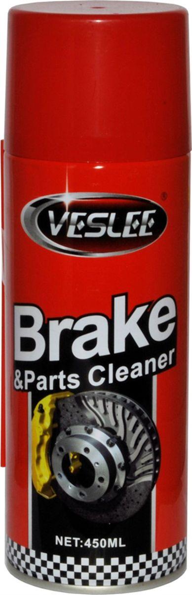 Очиститель тормозов Veslee, 450 мл (аэрозоль)VL-13Эффективно очищает тормозные колодки, барабаны, диски и другие детали тормозных систем без разборки. Быстро удаляет тормозную пыль, нагар, маслянистую плёнку и другие загрязнения. После применения средства тормоза работают плавно и надёжно