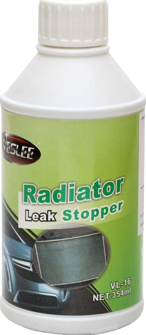 Герметик радиатора Veslee, для системы охлаждения, 354 мл (банка)VL-16Быстро устаняет протечки в радиаторе, водяных насосах, гибких патрубках, муфтах и рукавах. Эффективно заполняет и герметизирует повреждения, укрепляет ранее отремонтированные участки, предотвращает коррозию. Может смешиваться с любой охлаждающей жидкостью, в том числе и с водой. Безопасно для любых частей системы охлаждения.