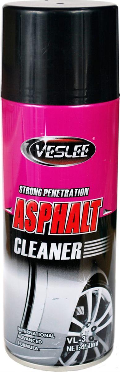 Очиститель битума/гудрона Veslee, 450 мл (аэрозоль)VL-3Очищает поверхность от гудрона, масла, битумных пятен, насекомых и других трудно удаляемых загрязнений, проникает в микротрещины и придаёт блеск. Применяется для очистки кузова, стёкол, фар, решётки радиатора, бампера и хромированных деталей автомобиля и мотоциклов. Не требует приложения дополнительных усилий благодаря содержа-щимся высокоактивным веществам, растворяющим органические соединения.