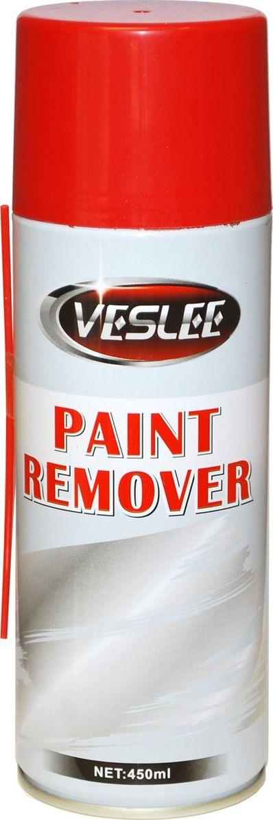Смывка краски Veslee, 450 мл (аэрозоль)VL-32AЭффективное средство для удаления лакокрасочных покрытий. Лёгкая в применении, не вызывает коррозии металлических поверхностей