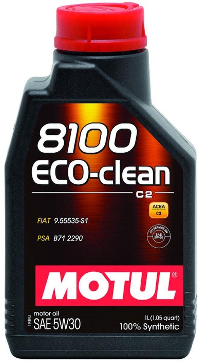 Масло моторное Motul 8100 Eco-Clean, синтетическое, 5W-30, 1 л101542Высокотехнологичное 100% синтетическое энергосберегающее моторное масло. Специально разработано для автомобилей последнего поколения, оснащенных бензиновыми и дизельными двигателями, в том числе с непосредственным впрыском, отвечающих требованиям норм Евро IV и Евро V и требующих использования в них масла стандарта ACEA C2: масла с низкой высокотемпературной вязкостью HTHS (менее 3,5 mPa/s), сниженным содержанием сульфатной золы (0,8%), фосфора (0.07%-0.09%), серы (0.3%) - Mid SAPS. Совместимо со всеми типами бензиновых и дизельных двигателей, в которых предусмотрено использование энергосберегающего масла: стандарты ACEA С2 или A5/B5. Масло имеет одобрения PSA B71 2290 от Peugeot Citroen Automobile. Совместимо с каталитическими нейтрализаторами и сажевыми фильтрами системы очистки выхлопных газов. Некоторые двигатели не предназначены для использования в них данного типа масел, поэтому перед использованием этого продукта необходимо ознакомиться с руководством по...