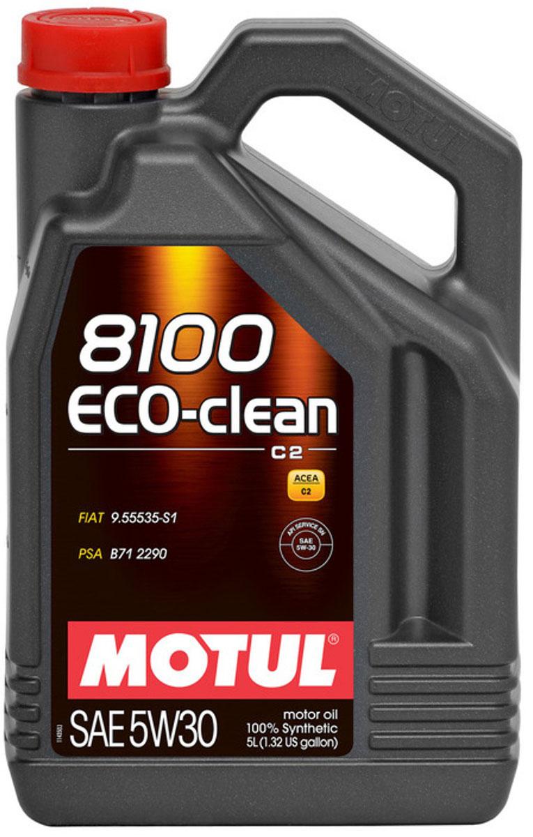 Масло моторное Motul 8100 Eco-Clean, синтетическое, 5W-30, 4 л101545Высокотехнологичное 100% синтетическое энергосберегающее моторное масло. Специально разработано для автомобилей последнего поколения, оснащенных бензиновыми и дизельными двигателями, в том числе с непосредственным впрыском, отвечающих требованиям норм Евро IV и Евро V и требующих использования в них масла стандарта ACEA C2: масла с низкой высокотемпературной вязкостью HTHS (менее 3,5 mPa/s), сниженным содержанием сульфатной золы (0,8%), фосфора (0.07%-0.09%), серы (0.3%) - Mid SAPS. Совместимо со всеми типами бензиновых и дизельных двигателей, в которых предусмотрено использование энергосберегающего масла: стандарты ACEA С2 или A5/B5. Масло имеет одобрения PSA B71 2290 от Peugeot Citroen Automobile. Совместимо с каталитическими нейтрализаторами и сажевыми фильтрами системы очистки выхлопных газов. Некоторые двигатели не предназначены для использования в них данного типа масел, поэтому перед использованием этого продукта необходимо ознакомиться с руководством по...