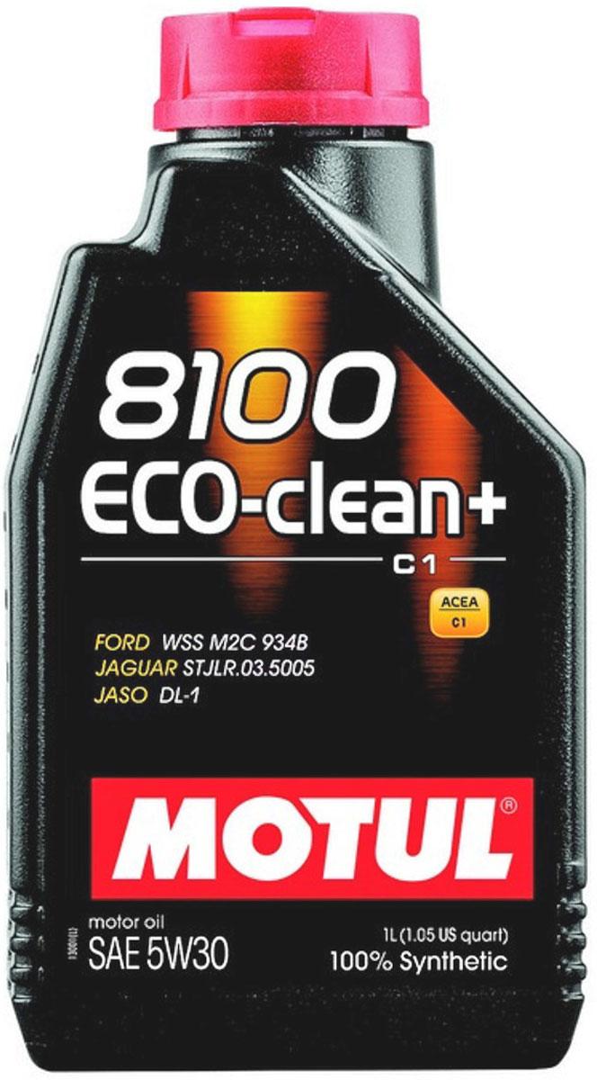 Масло моторное Motul 8100 Eco-Clean Plus, синтетическое, 5W-30, 1 л101580Моторное масло для бензиновых и дизельных двигателей стандарта Евро IV и Евро V. 100% синтетическое. Энергосберегающее моторное масло. Специально разработано для автомобилей последнего поколения, оснащенных бензиновыми двигателями и дизельными двигателями с непосредственным впрыском, отвечающих требованиям стандартов Евро IV и Евро V и требующих использования в них масла стандарта ACEA C1: масла с низкой высокотемпературной вязкостью Low HTHS ( Совместимо с каталитическими конверторами и сажевыми фильтрами. Некоторые двигатели не предназначены для использования в них данного типа масел, поэтому перед использованием этого продукта необходимо ознакомиться с руководством по эксплуатации...
