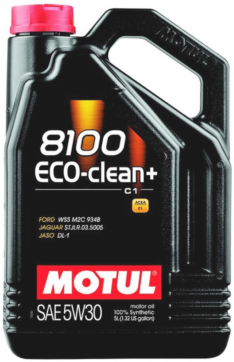 Масло моторное Motul 8100 Eco-Clean Plus, синтетическое, 5W-30, 5 л101584Моторное масло для бензиновых и дизельных двигателей стандарта Евро IV и Евро V. 100% синтетическое. Энергосберегающее моторное масло. Специально разработано для автомобилей последнего поколения, оснащенных бензиновыми двигателями и дизельными двигателями с непосредственным впрыском, отвечающих требованиям стандартов Евро IV и Евро V и требующих использования в них масла стандарта ACEA C1: масла с низкой высокотемпературной вязкостью Low HTHS ( Совместимо с каталитическими конверторами и сажевыми фильтрами. Некоторые двигатели не предназначены для использования в них данного типа масел, поэтому перед использованием этого продукта необходимо ознакомиться с руководством по эксплуатации...