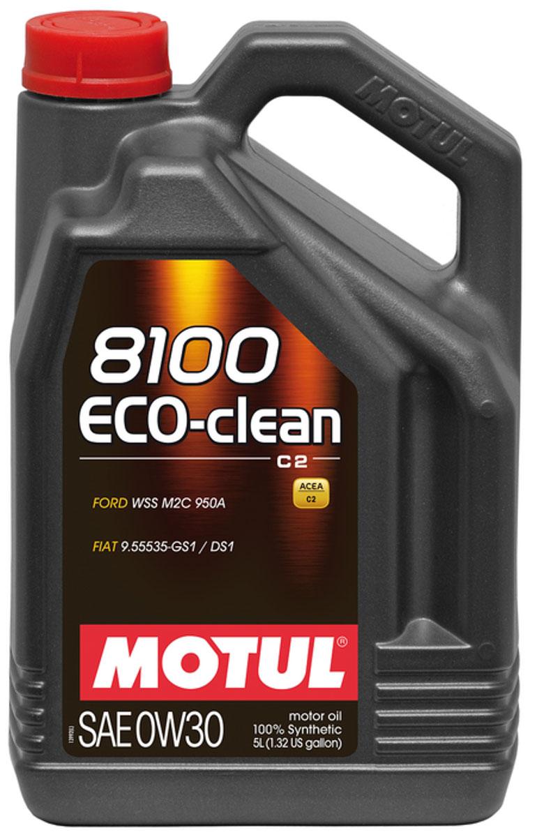 Масло моторное Motul 8100 Eco-Clean, синтетическое, 0W-30, 4 л102889Моторное масло для бензиновых и дизельных двигателей. 100% синтетическое. Высокотехнологичное 100% синтетическое энергосберегающее моторное масло. Специально разработано для автопроизводителей, требующих масла с низким трением, низкой высокотемпературной вязкостью (HTHS менее 3,5 мПа.с), сниженным содержанием сульфатной золы (?0,8%), фосфора (0.07%-0.09%), серы (?0.3%) - Mid SAPS. Применяется для автомобилей последнего поколения, оснащенных бензиновыми и дизельными двигателями, в том числе с непосредственным впрыском, отвечающих требованиям стандартов Евро IV и Евро V, требующих использования в них энергосберегающих масел стандарта ACEA C2. Совместимо с каталитическими конвертерами и сажевыми фильтрами (DPF) системы очистки выхлопных газов. ACEA Стандарты: ACEA C2 API Стандарты: API PERFORMANCE SN Одобрения: FORD WSS M2C 950A; FIAT 9.55535-GS1/DS1