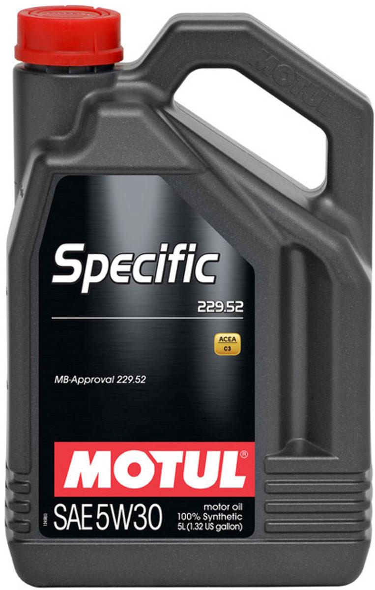 Масло моторное Motul Specific 229.52 MB, синтетическое, 5W-30, 5 л104845100% синтетическое моторное масло, специально разработанное для обеспечения энергосберегающих свойств. Применяется для последнего поколения бензиновых и дизельных двигателей Mercedes Benz, в том числе оснащенных селективно-восстановительной системой (SCR). Имеет превосходную термоокислительную стабильность. Обратносовместим с требованиями MB 229.51 и MB 229.31. ACEA Стандарты: ACEA C3 API Стандарты: API PERFORMANCES SN/CF Одобрения: MB-Approval 229.52
