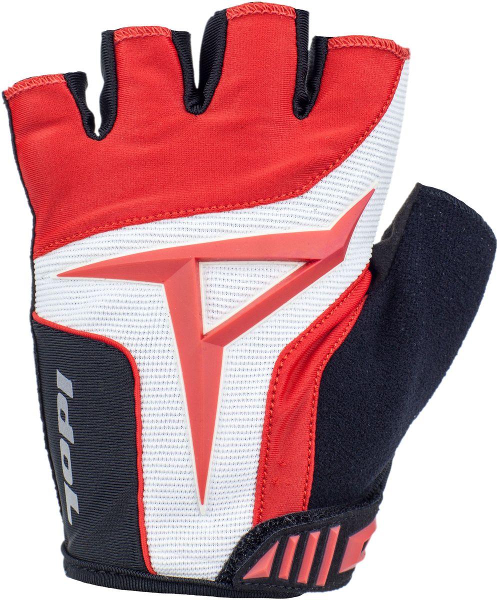 Перчатки велосипедные Idol Davos, цвет: красный. Размер L2701Велосипедные перчатки Idol, DAVOS 2701 предназначены для велоспорта, велотуризма, велосипедных прогулок. Линия ХС - Открытые пальцы - Верх: высококачественный материал 4-way stretch повышенной дышимости - Ладонь: синтетическая кожа Amara - Гелевая вставка на ладони - Влагоотводящий материал на большом пальце - Технология Sonic в дизайне - Двойной шов в критических местах - Веревочные петли для снимания - Липучка для фиксации перчатки на руке Высокое качество материалов, стильный дизайн, функциональность и прочность выделяют велоперчатки Idol среди прочих.