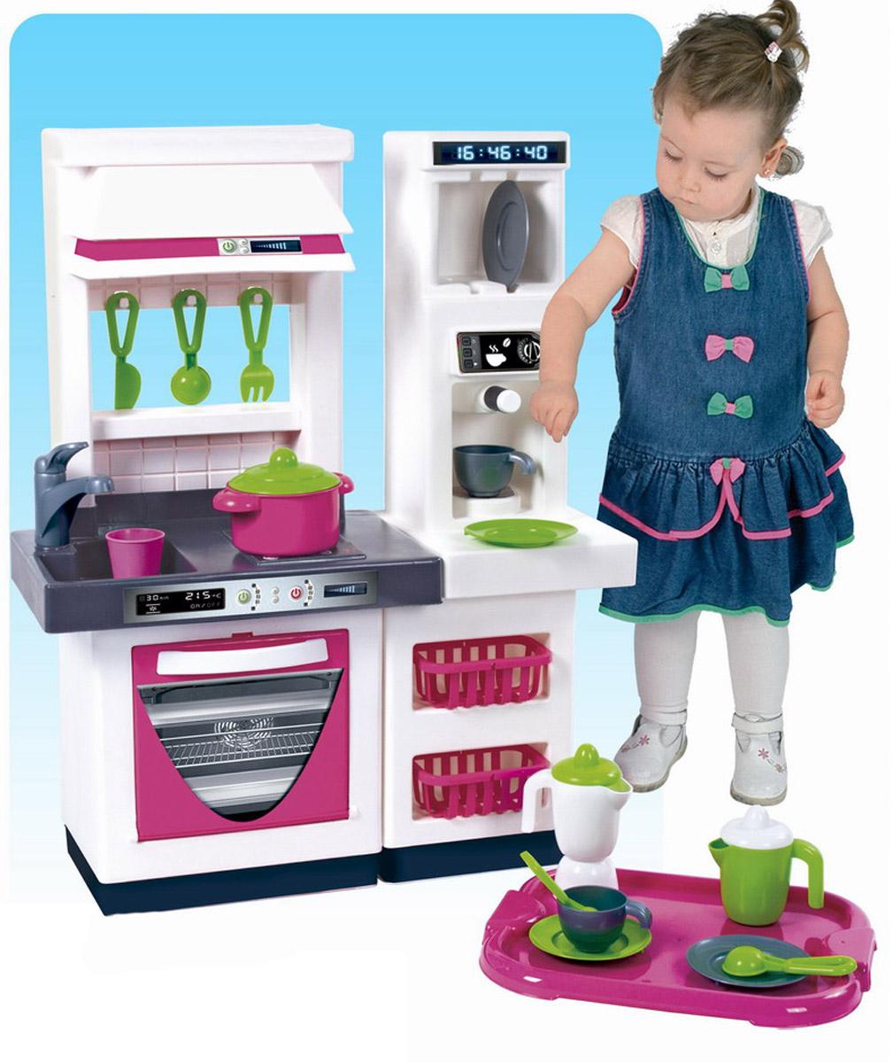 Palau Toys Игровой набор Кухня с 2 модулями и набором посуды 07/1586