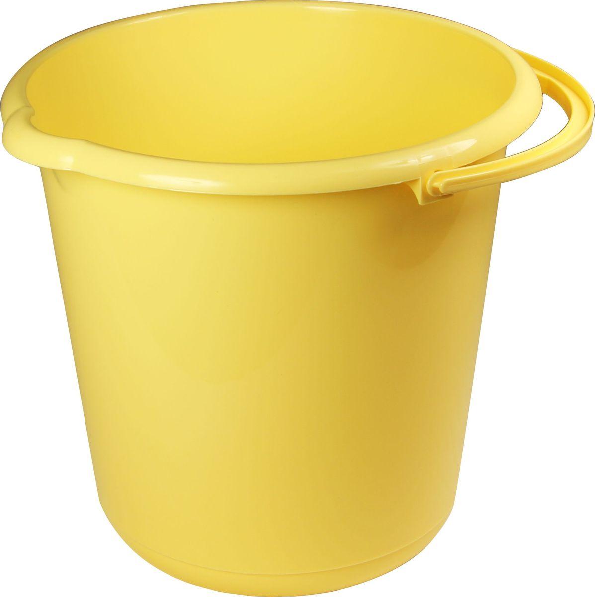 Ведро хозяйственное Idea, цвет: банановый, 3 л. М 2428М 2428_банановый