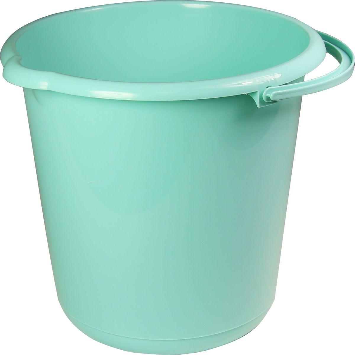 Ведро хозяйственное Idea, цвет: аквамарин, 15 л. М 2431М 2431_аквамарин