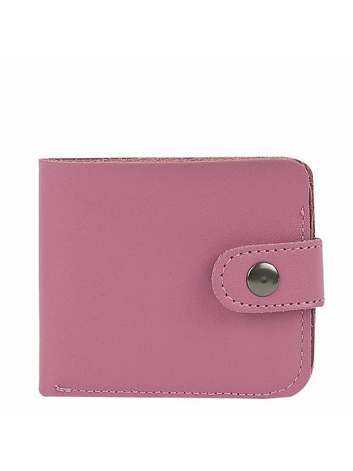 Кошелек Kawaii Factory, цвет: розовый. KW057-000627KW057-000627Классический складной кошелек от Kawaii Factory, изготовленный из экокожи, прекрасно впишется в любой стиль. Он оснащен одним отделением для купюр, прорезными кармашками для карточек. Аксессуар поместится даже в миниатюрную сумочку. Кошелек на застежке-кнопке отличается строгим эргономичным дизайном и универсальностью.