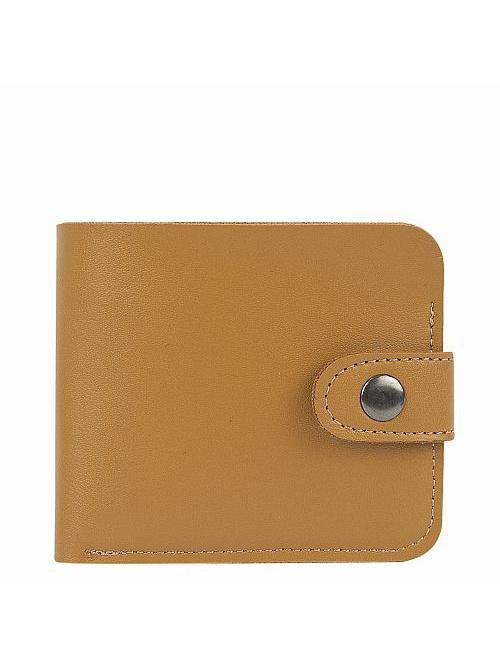 Кошелек Kawaii Factory, цвет: бежевый. KW057-000626KW057-000626Классический складной кошелек от Kawaii Factory, изготовленный из экокожи, прекрасно впишется в любой стиль. Он оснащен одним отделением для купюр, прорезными кармашками для карточек. Аксессуар поместится даже в миниатюрную сумочку. Кошелек на застежке-кнопке отличается строгим эргономичным дизайном и универсальностью.