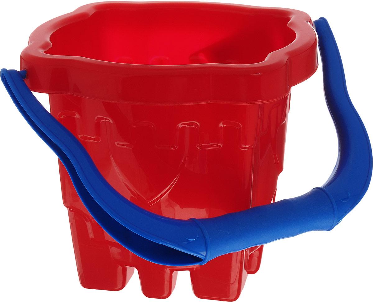 Hemar Игрушка для песочницы Ведро цвет красный П-0215