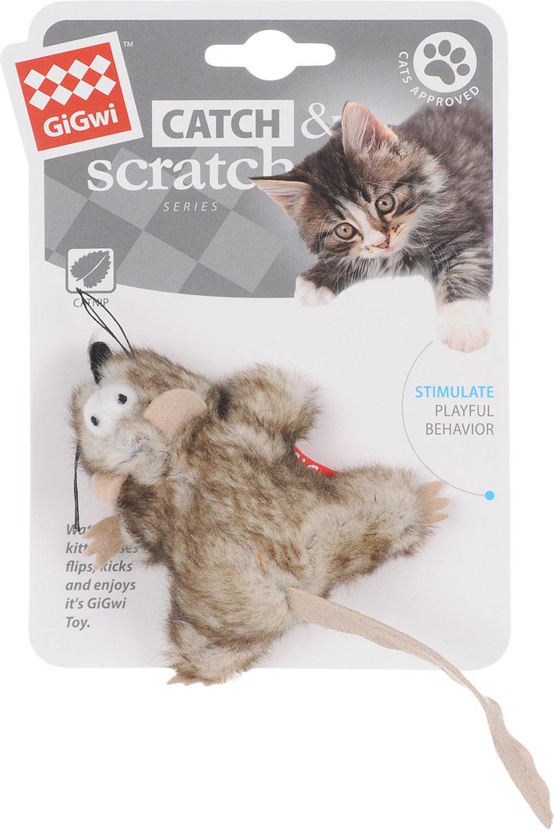 Игрушка для кошек GiGwi Мышка, с кошачьей мятой, длина 8 см75383Мягкая игрушка GiGwi Мышка изготовлена из текстиля. Играя с этой забавной игрушкой, маленькие котята развиваются физически, а взрослые кошки и коты поддерживают свой мышечный тонус. Изделие выполнено в виде мыши. В качестве наполнителя выступает кошачья мята. Кошачья мята - растение, запах которого делает кошку более игривой и любопытной. С помощью этого средства кошка легче перенесет путешествие на автомобиле, посещение ветеринарного врача, переезд на новую квартиру. Размеры игрушки (без учета хвоста): 8 х 8 х 3,5 см.