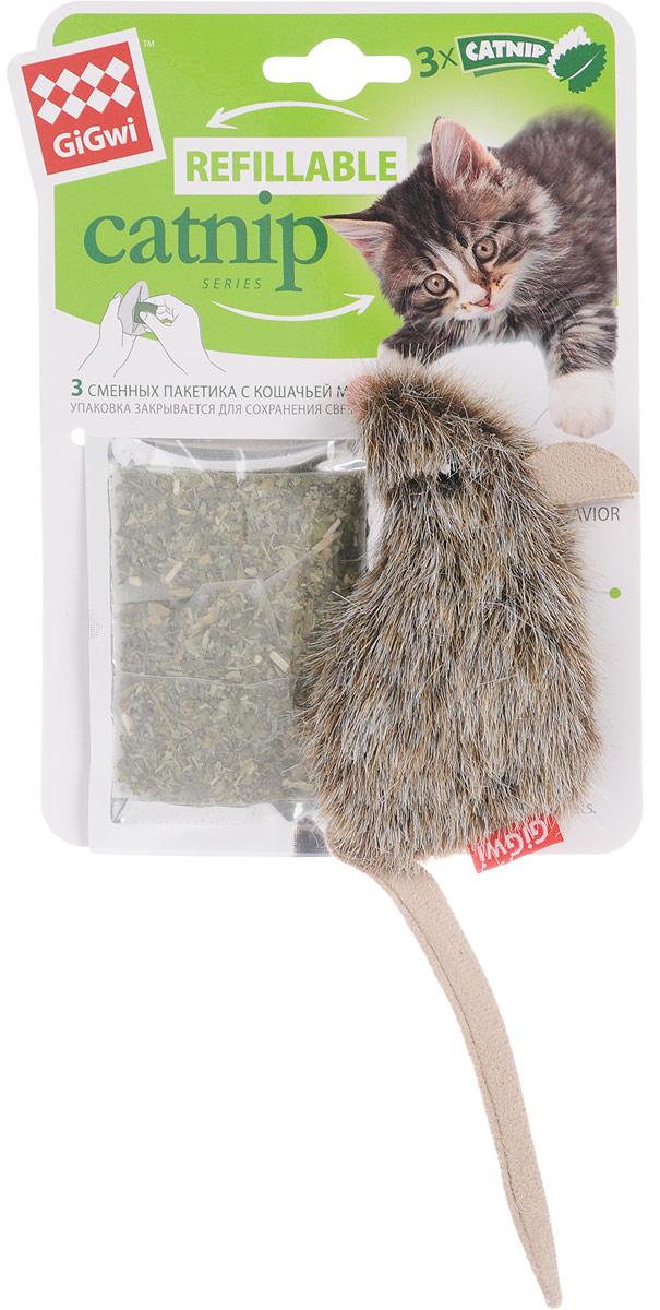 Игрушка для кошек GiGwi Мышка, с кошачьей мятой, длина 10 см куплю 3 х комнатную квартиру в елшанке