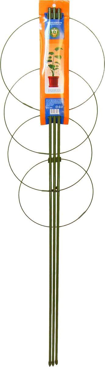 Опора для растений Garden Show, круглая (4 кольца), высота 90 см466340Опора для растений Garden Show Круглая (4 кольца) металл h90см